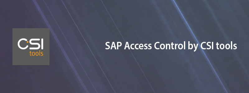 SAP Access Control by CSI tools