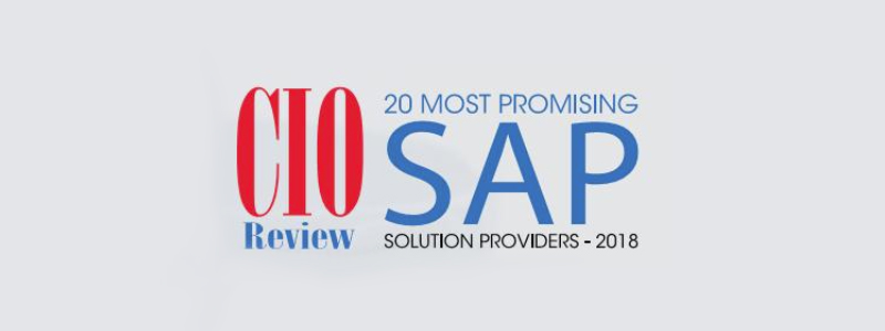 Press Release: CSI tools recognized by CIOReview as one of 20 Most Promosing SAP Solution Providers 2018