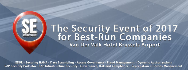 CSI tools at Security Event 2017 in Brussels
