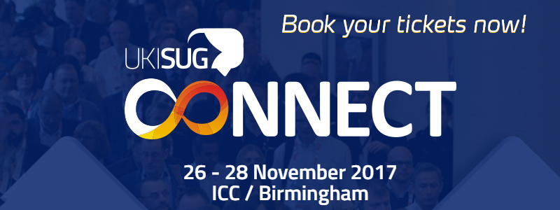Book your UKISUG Connect 2017 tickets now!