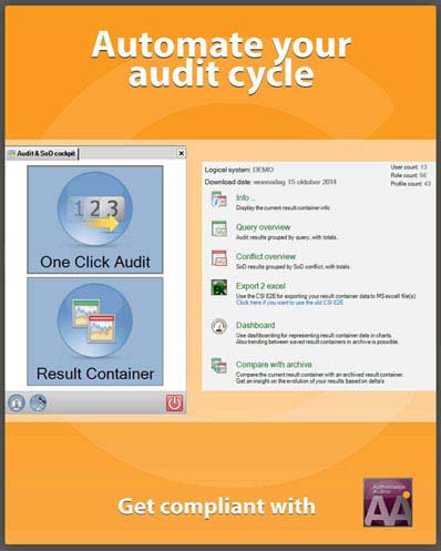 Automate your audit cycle - save time and money