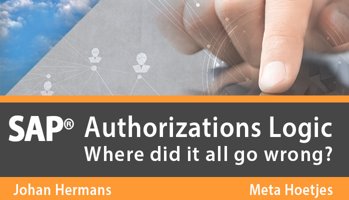SAP Authorizations Logic The Story Behind The Book 20150223
